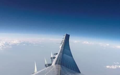 空飛ぶ基地局」成層圏飛行に成功、ソフトバンク: 日本経済新聞