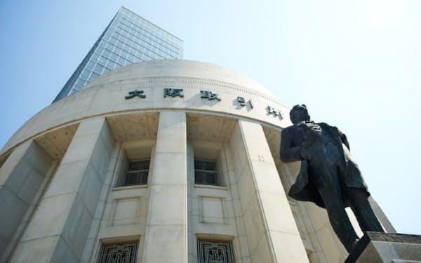 大阪取引所への移管後も売買が盛り上がらなかった