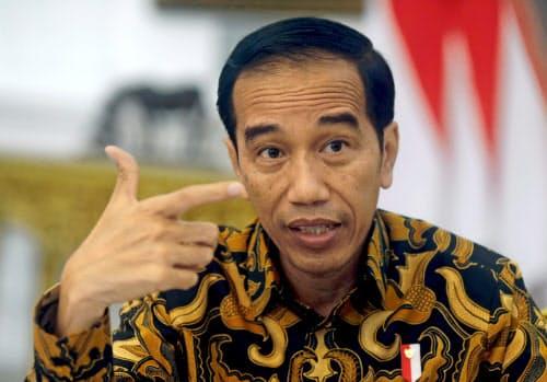 インドネシアのジョコ大統領=ロイター