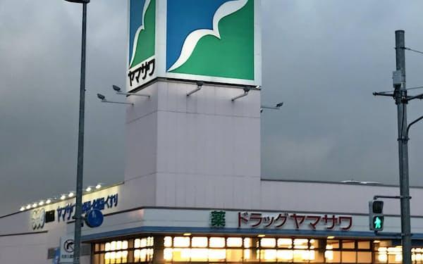 巣ごもり需要で利益が大幅に増えた食品スーパーのヤマザワ(山形市の店舗)