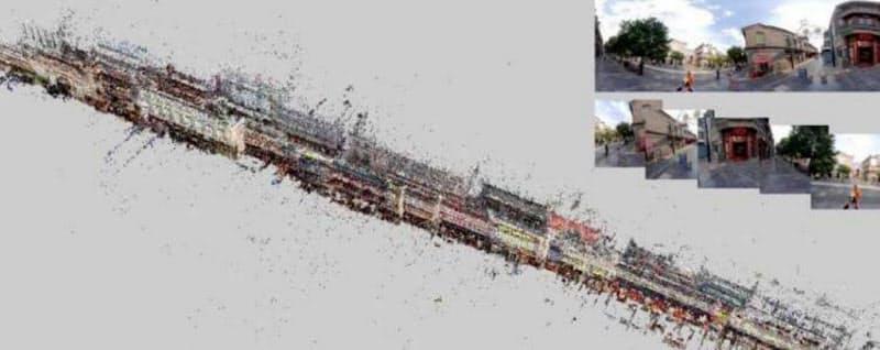 都市の3D化はスマートシティー建設に関する科学研究などへの活用が期待されている(AIRLOOK提供)
