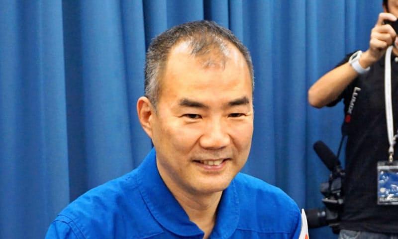 日本人宇宙飛行士の野口聡一さん=共同