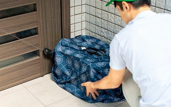 置き配でアパートの利便性を高め、入居率の改善を目指す