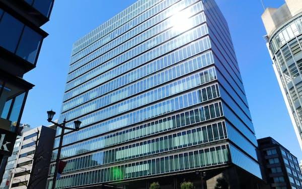 ベントール・グリーンオークが4月に取得した東京都千代田区のビル
