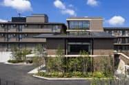 介護付き有料老人ホーム「光が丘パークヴィラ」(東京・練馬)で8月末に増築工事が完了した共用棟