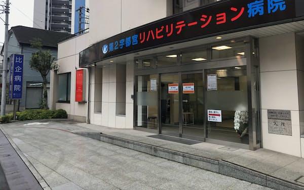 巨樹の会は第2宇都宮リハビリテーション病院をJR宇都宮駅東側に新築移転する