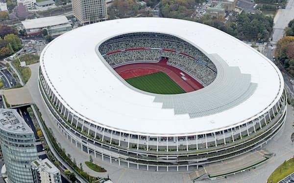観戦チケットの保有をなんらかの方法で確認するなどの対策を検討する(国立競技場)