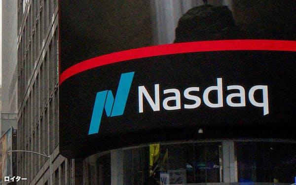 ハイテク株比率が高いナスダック総合株価指数は4日続伸し、過去最高値をつけた9月2日以来の高水準に=ロイター