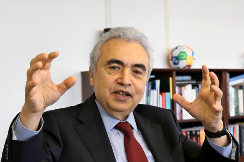 国際エネルギー機関(IEA)のファティ・ビロル事務局長