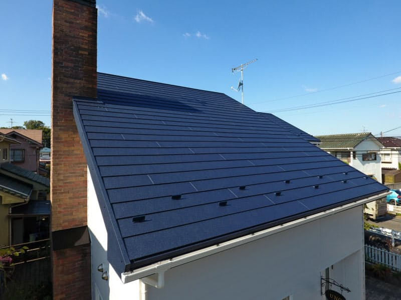 全国発明表彰を受けたアイジー工業の金属屋根材ガルテクトシリーズ
