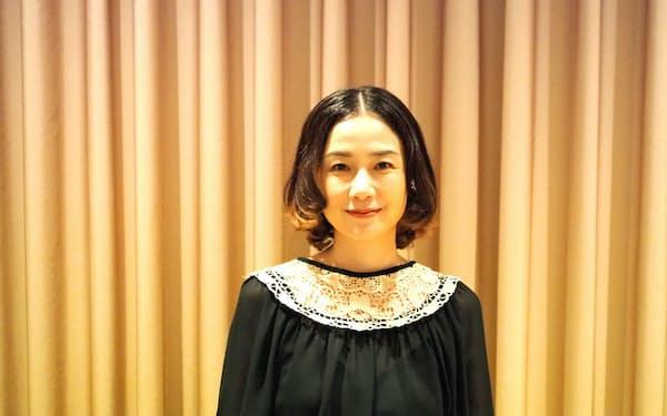 「誰かになりきるというのは、女優でやっていることに近い」と語る原田