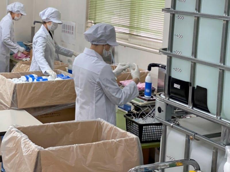 iPOSHの協力工場に設備投資した(秋田県湯沢市)