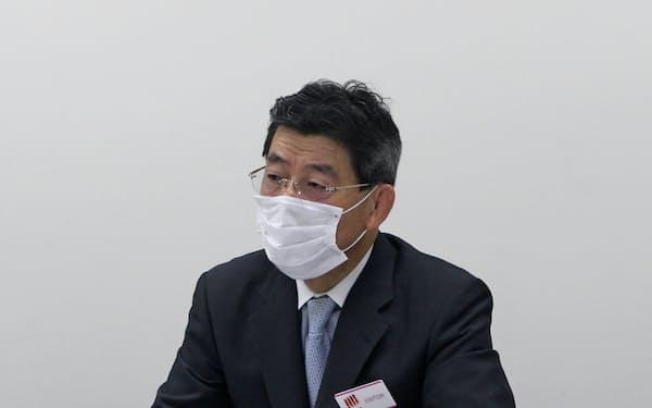 日通システムの加村稔社長
