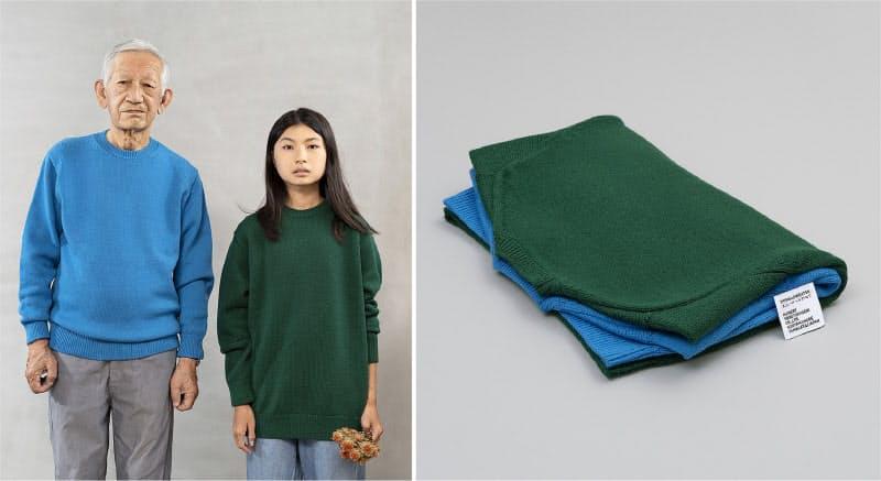 年齢や性別を問わない4サイズ6色展開の新ブランドセーター「THIS IS A SWEATER.」