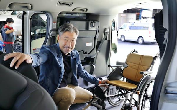 岡部さんが営む自動車販売会社は障害者雇用に熱心に取り組む