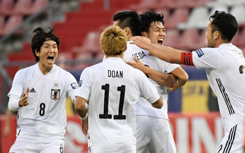 オランダで国際親善試合を行った日本代表の活動再開は大成功だったといえる=ロイター