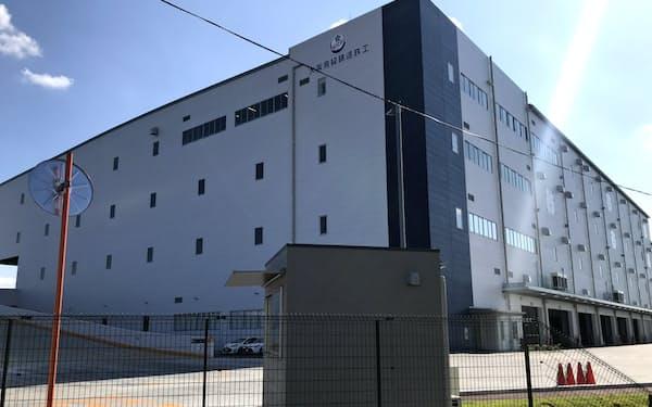 オリックス不動産が大阪府枚方市に設けた物流施設