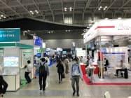 バイオジャパン2020では多くの企業がブースを並べる