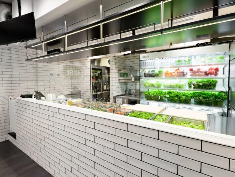 米国で人気の「サラダボウル」の専門店を開業する(イメージ)