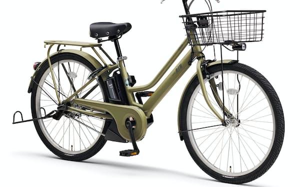 ヤマハ発の電動アシスト自転車「PAS RIN」の2021年モデル