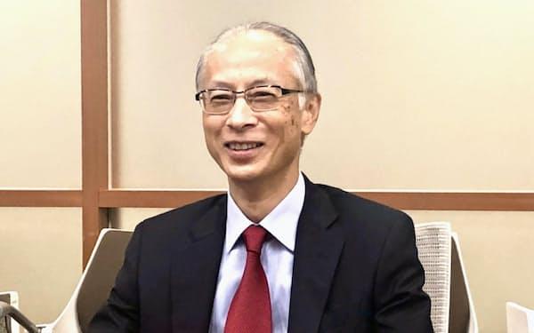 ソニーフィナンシャルホールディングスの岡昌志社長