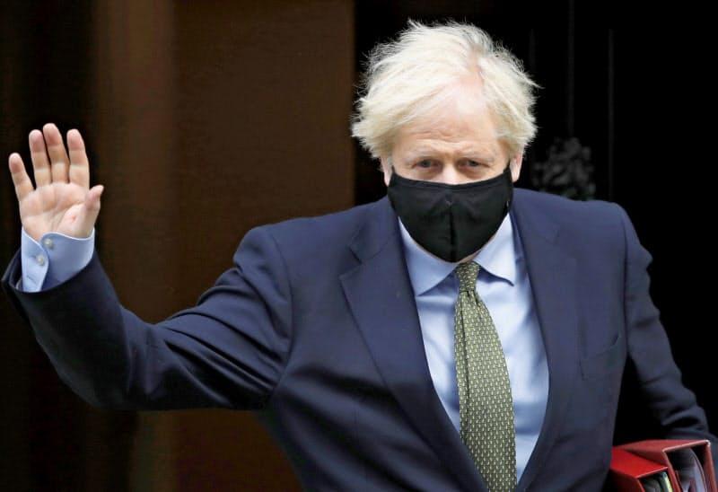 ジョンソン英首相は10月15日までに合意できなければEUとのFTA交渉を打ち切る意向を表明している=AP