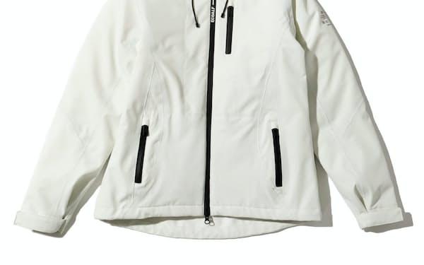 三陽商会が販売するコーヒー豆のかすを原料に使用したジャケット(「カトマンドゥ マルチジャケット」女性用)