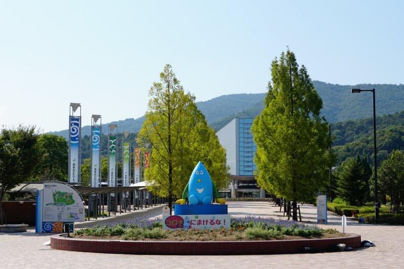 四国初の「木のおもちゃ美術館」が建設されるあすたむらんど徳島(徳島県板野町)