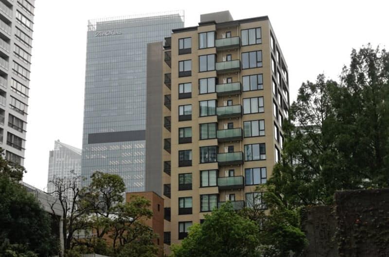 再開発がエリアの地価や高額物件の供給につながっている(東京都港区赤坂1丁目)