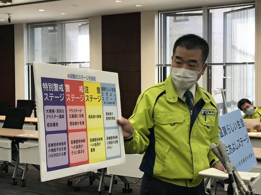 県 感染 滋賀 コロナ