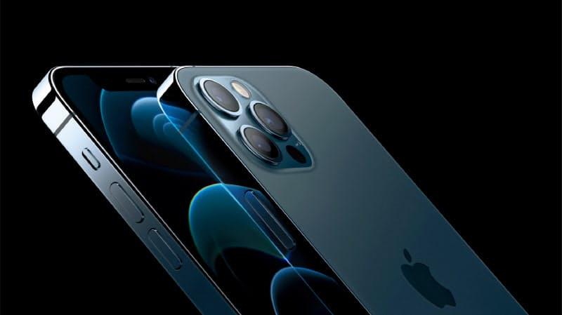 米アップルが発売する5G対応の新型「iPhone」=同社提供