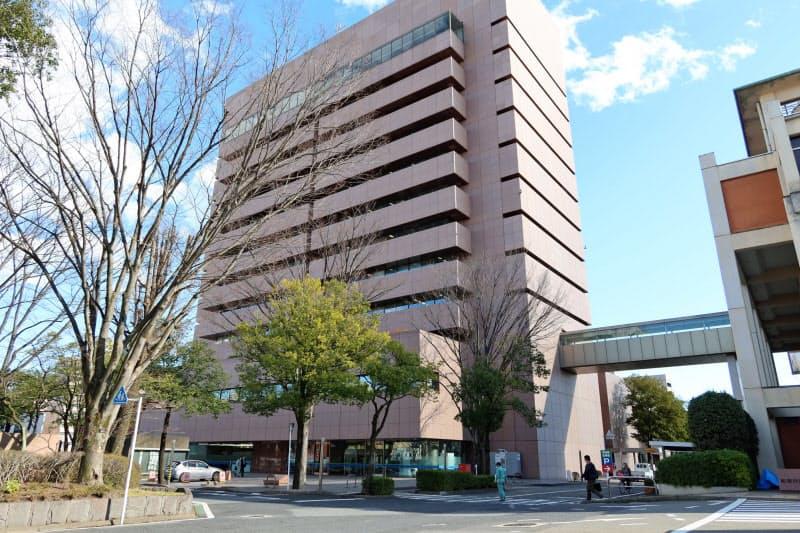 前橋市はマイナンバーカードへ健康保険証を登録するのを支援する窓口を設けた(同市)