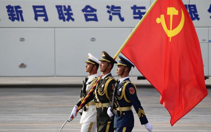 米国は中国共産党への批判を強めている=ロイター
