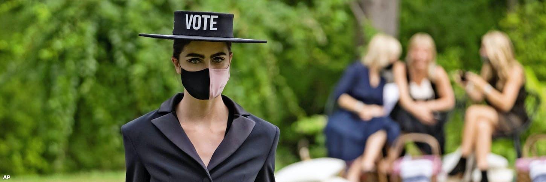 【記者ブログ】投票を促すファッションブランド