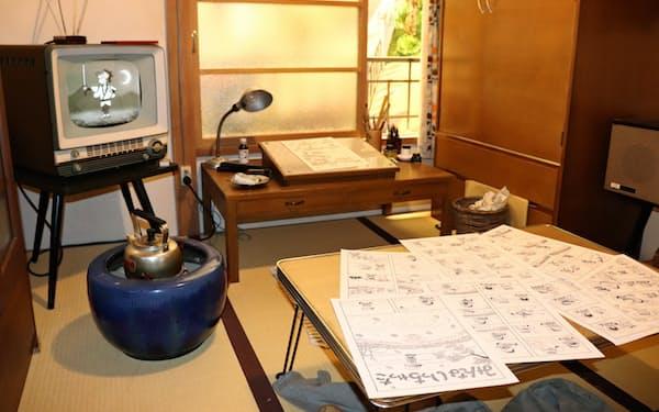 1960年代前半のトキワ荘を再現した
