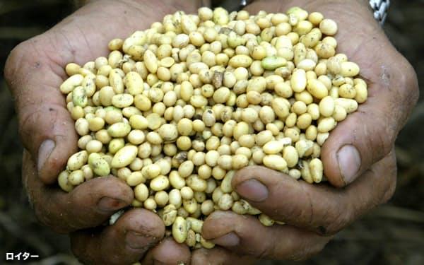 対中輸出が増加しているブラジル産大豆=ロイター