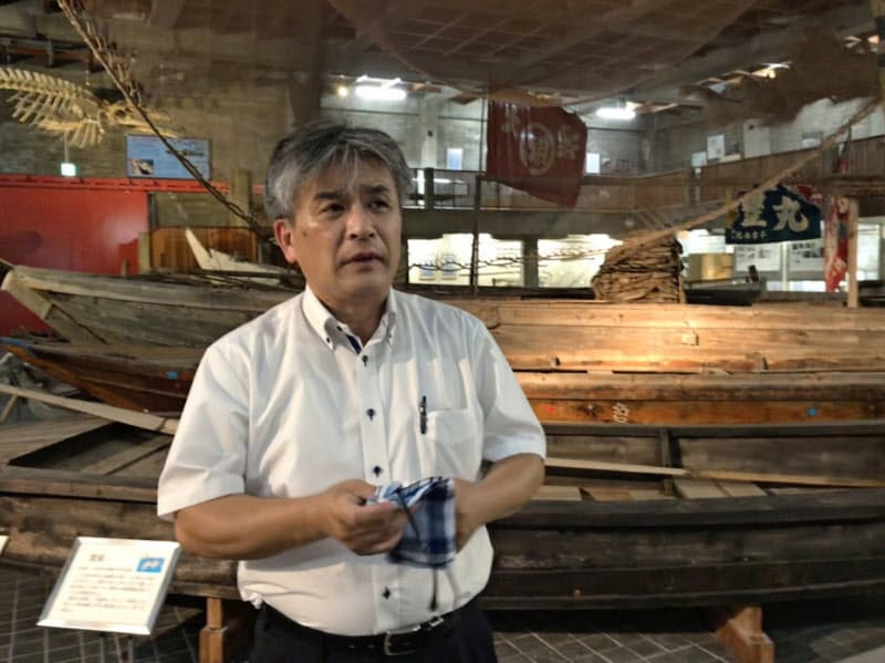瀬戸内海歴史民俗資料館には漁労用具など約6000点の国の文化財がある