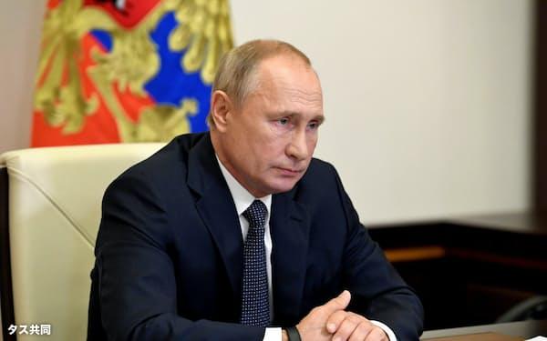 プーチン氏は新STARTを無条件で1年延長することを提案した=タス共同