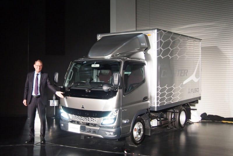 新小型トラック「キャンター」もコネクテッド機能を標準装備にする