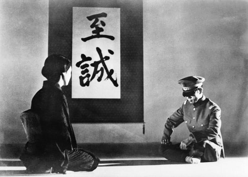 映画「憂国」では自ら監督・主演を務めた(C) 1966 Iichiro Mishima