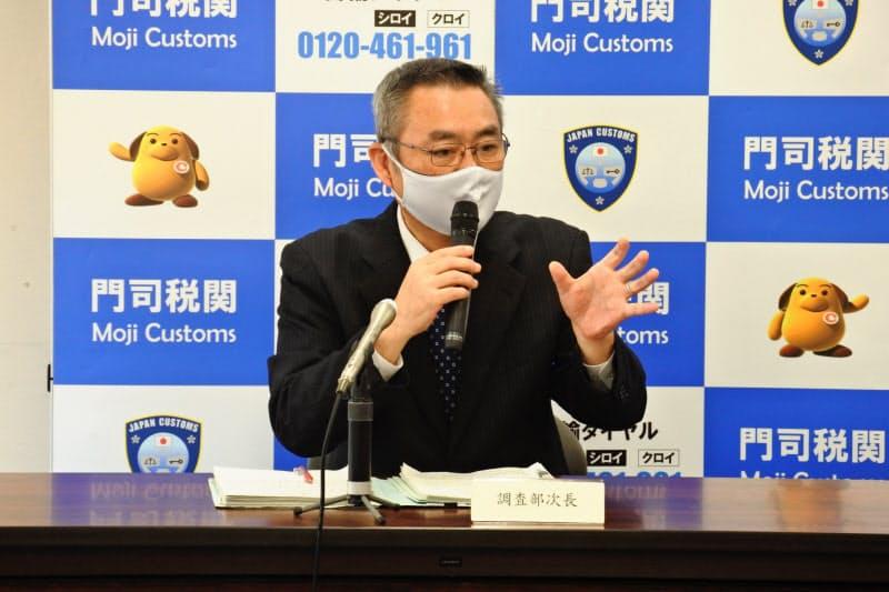 門司税関は、九州圏の自動車輸出について「回復が続く」との見方を示した(19日、北九州市)
