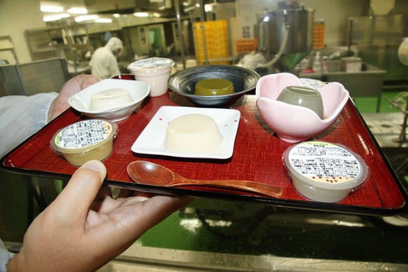 軟らかさとおいしさを追求した「ふるる」(高知県芸西村の「高知セントラルキッチン)」