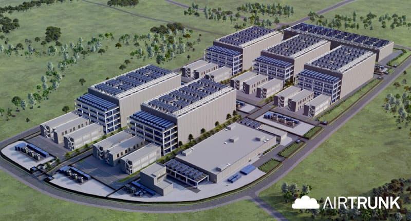 大和ハウス工業は国内最大級のデータセンター団地開発に着工した(イメージ)