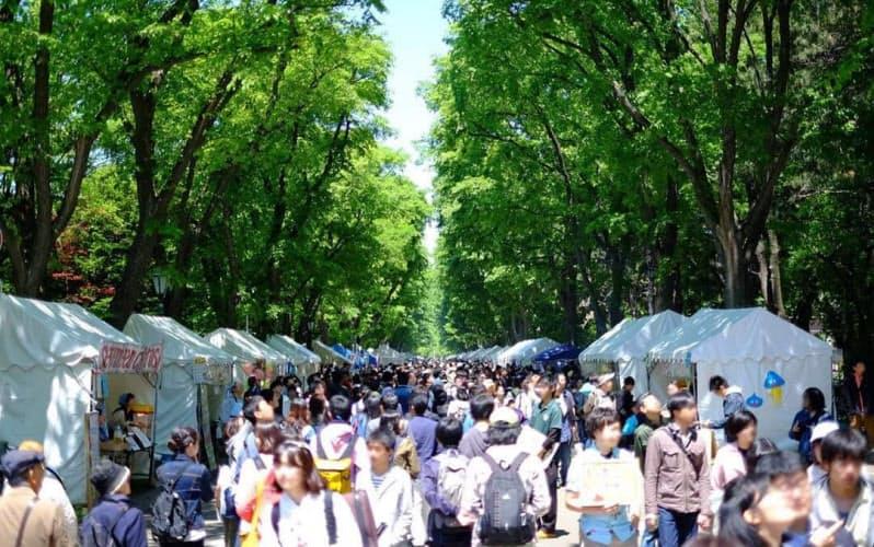 札幌でのキャンパスライフは人気が高い(北大の学園祭「北大祭」