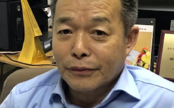 清華大学の胡鞍鋼教授