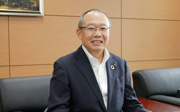 トクヤマの横田浩社長