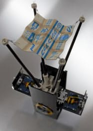 室蘭工業大学と大阪府立大学が共同で開発した超小型衛星「ひろがり」