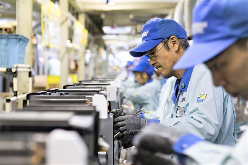 東京ドーム5個分の敷地に、多いときには5000人以上が働く