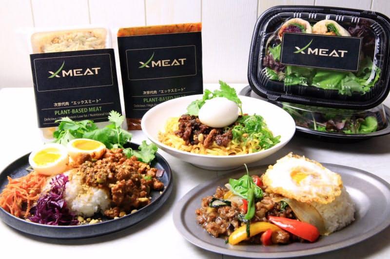 きちりHDは幅広いジャンルの料理で植物肉の汎用性を訴える