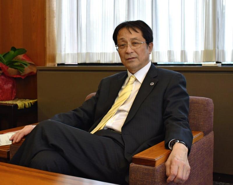 筑波大学の永田恭介学長